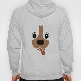 Dachshund Face Funny Dog Halloween Costume Hoody