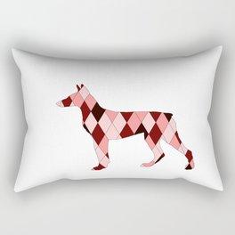 Doberman Rectangular Pillow