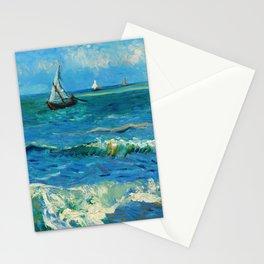 Vincent van Gogh - Seascape near Les Saintes-Maries-de-la-Mer, June 1888 Stationery Cards