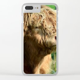 ox Clear iPhone Case