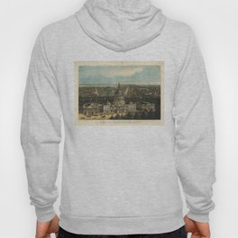 Vintage Pictorial Map of Washington D.C. (1871) Hoody