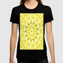 the sun : Yellow Mandela Explosion T-shirt