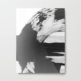 Black and White Gallery Wall Art Metal Print