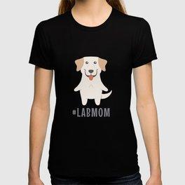 #LabMom Cute Labrador Gift Idea T-shirt