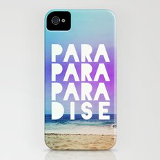 PARADISE (AQUA) Slim Case iPhone (4, 4s)
