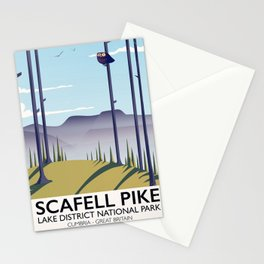 Scafell Pike Lake District National Park Stationery Cards