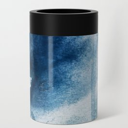 Pacific Grove: a pretty minimal abstract piece in blue by Alyssa Hamilton Art Can Cooler