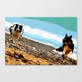Old Sea Dogs - Wales Canvas Print