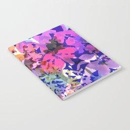 Colorful Poppy Garden Notebook