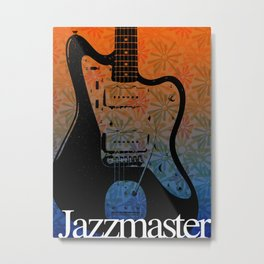 Guitar Enthusiast Series – Jazzmaster Metal Print