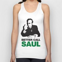 better call saul Tank Tops featuring Better Call Saul by Harry Martin