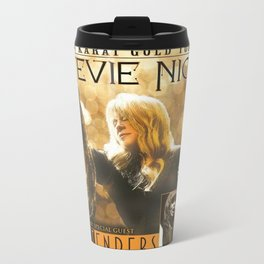 Stevie Nicks Metal Travel Mug