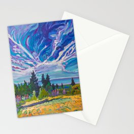 Lupine Views of Lake Superior Stationery Cards