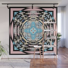 Perspective Aperture, Intersecting Pattern Wall Mural