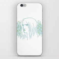 Woods Woman 1 iPhone Skin