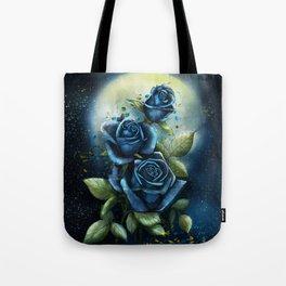 Night Roses Tote Bag