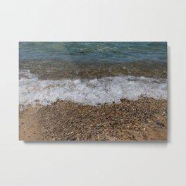 Lake_Michigan Beach, Charlevoix - 4 Metal Print