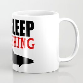 eat sleep go fishing Coffee Mug