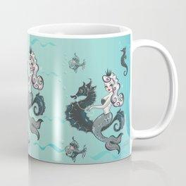 Pearla on Seahorse Coffee Mug