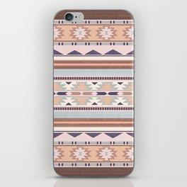 Blush South Western Pattern iPhone Skin