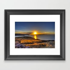 A Titicaca Sunset Framed Art Print