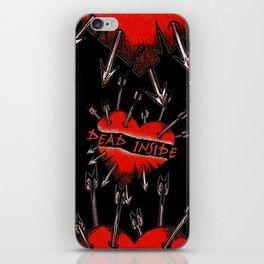 Dead Inside iPhone Skin