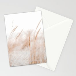 Beach Grass Pastel Colored Photo | Plantlife Photography | Warm Glow On Beach Grass Stationery Cards
