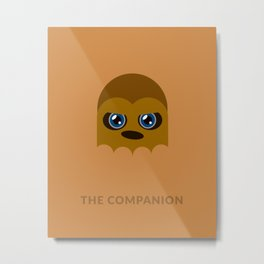 SW Chewbacca The Companion Metal Print