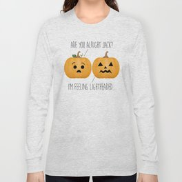 Lightheaded Jack-O-Lantern Long Sleeve T-shirt