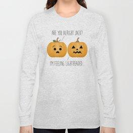 Lightheaded Jack-O-Lantern Long Sleeve T-shirt