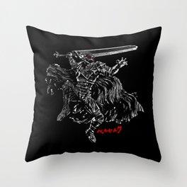 Berserker Rage Throw Pillow
