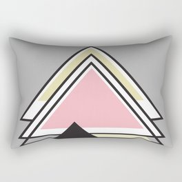 Minimalist Triangle Series 010 Rectangular Pillow