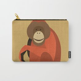 Whimsy Orang Utan Carry-All Pouch