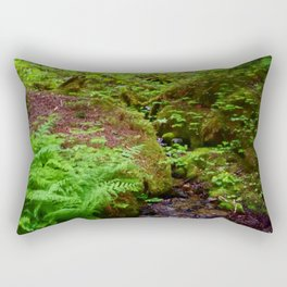 Hiking in Whistler-Blackcomb Rectangular Pillow