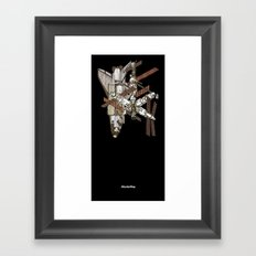 Atlantis/Mir Framed Art Print