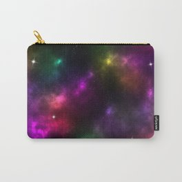 Rainbow Galaxy Carry-All Pouch
