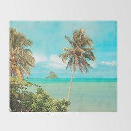 Mokolii Island Throw Blanket