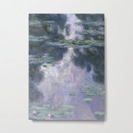 Water Lilies (Nymphéas) Metal Print