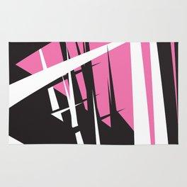 Pink Cocktail Pillow Rug