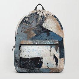 Grind blue | graffiti sexy woman figure Backpack