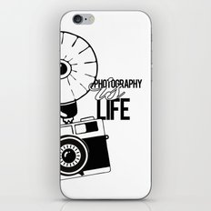 Photography is Life iPhone & iPod Skin