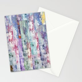 Abstract 195 Stationery Cards