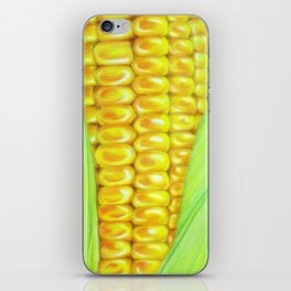 Color pencil Corn iPhone Skin
