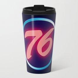 76 Neon Travel Mug