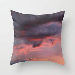 Sunset Atlas Throw Pillow