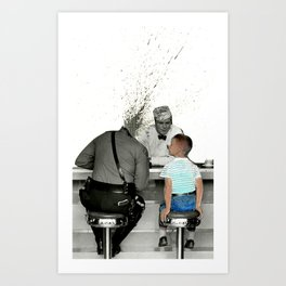 Corruption of Innocence Art Print