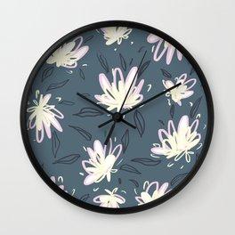 Pink Cloves Romantic Art Wall Clock