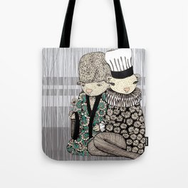 Happy when it rains Tote Bag