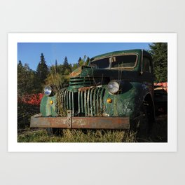 Bottle Depot Truck Art Print