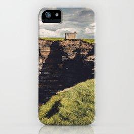 Irish Sea Cliffs iPhone Case